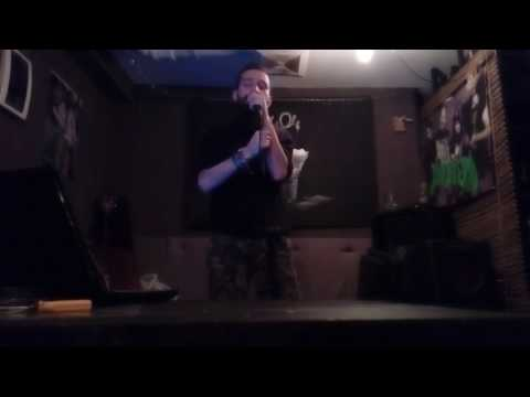 U2-One at the karaoke in Bar Error 404.