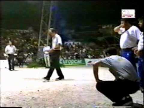 Championnat du monde p tanque 2001 quart de finale youtube for Championnat du monde de boules carrees