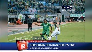 TRANS7 JATIM - Main 10 Orang, Persebaya ditahan PS TNI