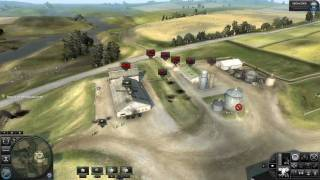 World In Conflict: Soviet Assault Gameplay