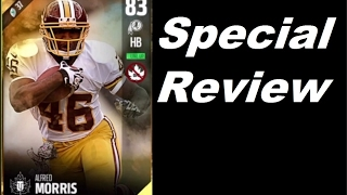 Special Review Alfred Morris | Player Review | Madden 17 Ultimate Team Gameplay