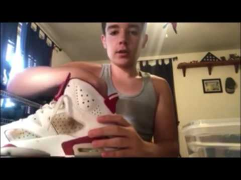 How to clean Air Jordan 6's Retro