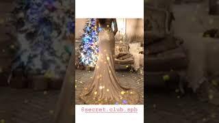 Вечернее платье «Жар-птица» в аренду СПб