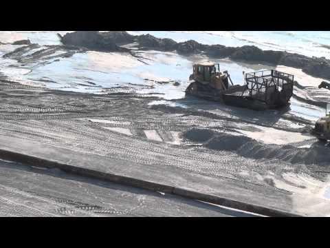 Making a New Beach - Sand Key - Clearwater Beach - Dan's Island  7-1-2012