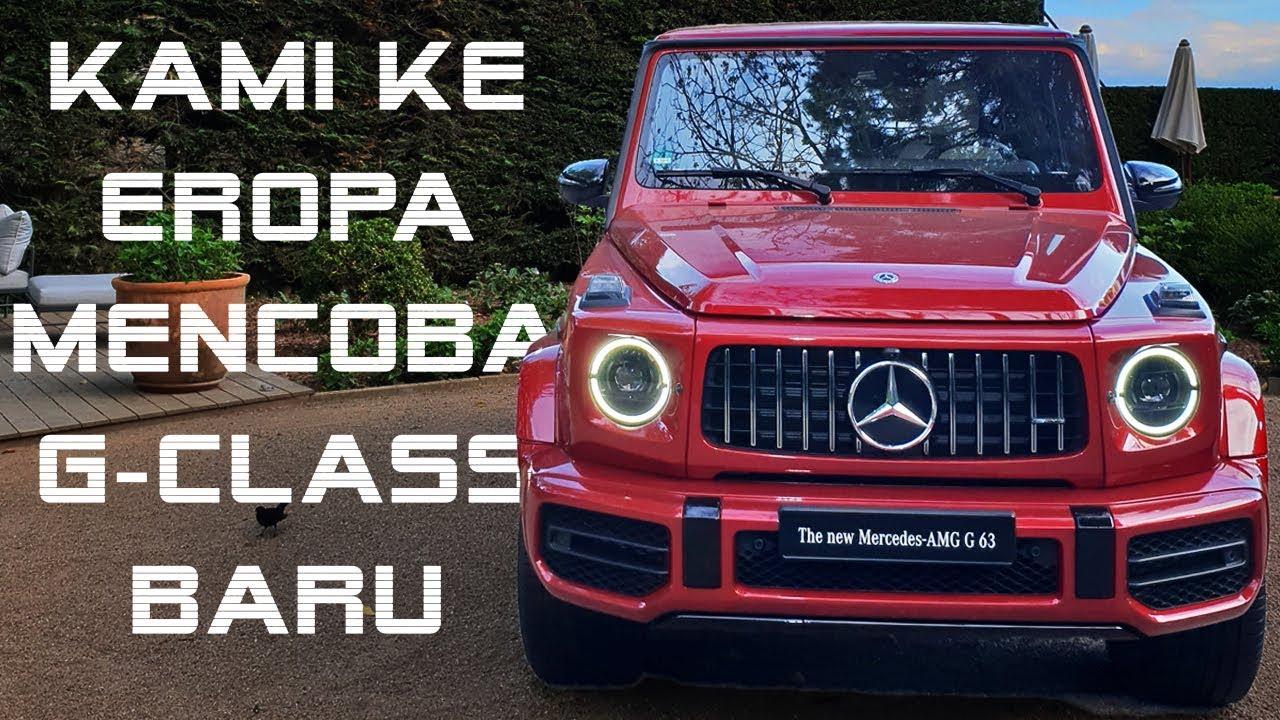 Mercedes Benz All New G Class 2018 Jip Mercy Yang Baru Youtube