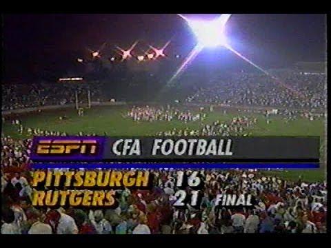 1992 Rutgers Pitt Football Game