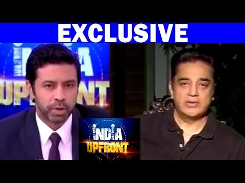 Kamal Haasan Speaks On Political Turmoil In Tamil Nadu | India Upfront With Rahul Shivshankar