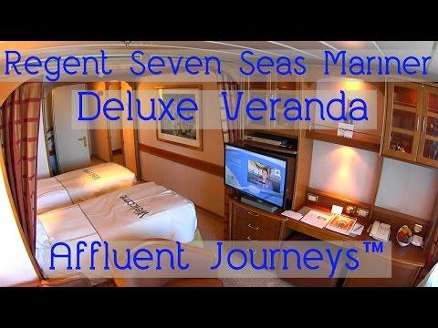Regent Seven Seas Mariner Deluxe Veranda Suite Tour