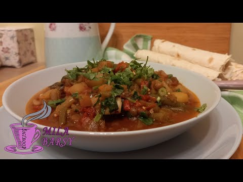 Аджапсандал   Армянская кухня   Безумно вкусное овощное блюдо   Ajab Sandal Recipe Armenian Cuisine