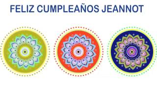 Jeannot   Indian Designs - Happy Birthday
