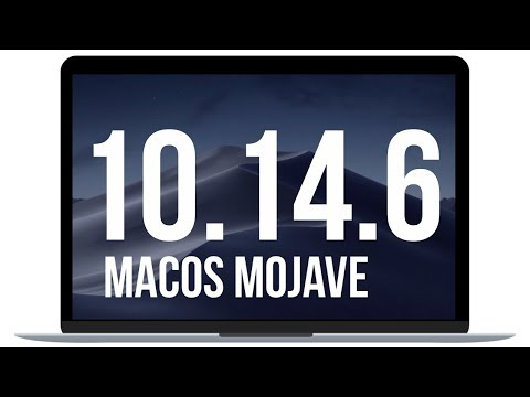 How To Update To MacOS Mojave 10.14.6 - MacBook , MacBook Pro, MacBook Air