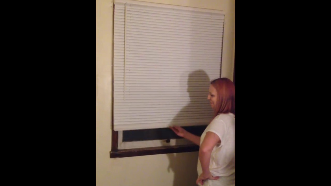 Home Depot Cordless Window Blinds Installed Youtube