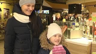 2018-12-11 г. Брест. Открытие магазина «Корона». Новости на Буг-ТВ. #бугтв