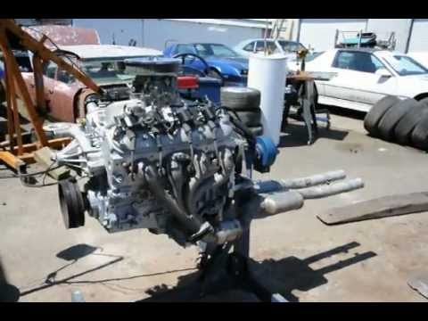 Corvette Ls1 5 7 350 Engine Very Nice Running