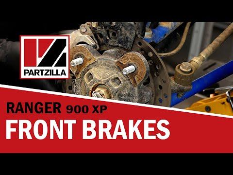 2011-2014 Polaris RZR 800 Razor EFI Front Brake Rotors Disc and Brake Pads