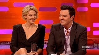 SETH MACFARLANE Does FAMILY GUY & KERMIT The Frog Voices - The Graham Norton Show on BBC AMERICA