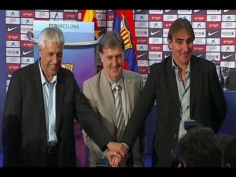 El nuevo entrenador del Barça, Gerardo 'Tata' Martino