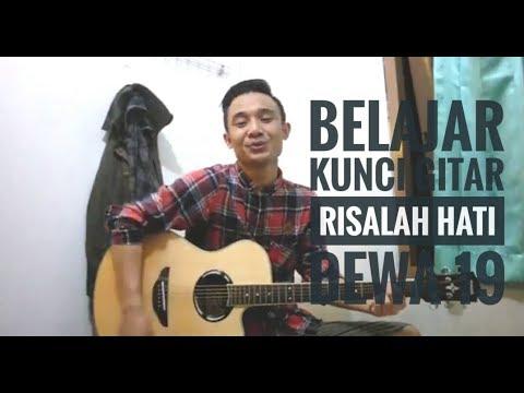 Tutor Kunci Gitar Risalah Hati (Dewa 19) - VWgitarkul