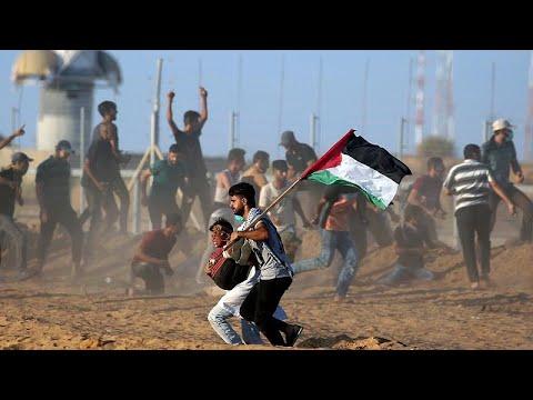 قتيل فلسطيني وأكثر من 300 مصاب في مظاهرات مسيرة العودة وكسر الحصار…  - نشر قبل 7 ساعة