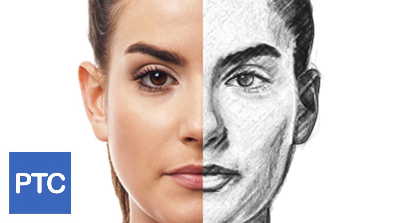 How to create a pencil drawing from a photo in photoshop line drawing effect youtube