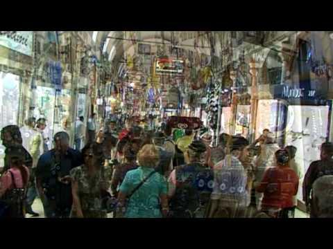 Turquie Vidéo Découverte Du Grand Bazar De Istanbul Youtube