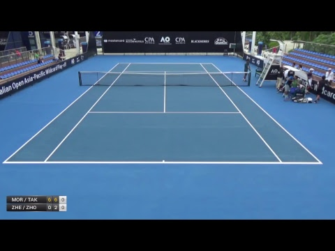 Australian Open 2018 Asia-Pacific Wildcard Play-off | Court 2  | Day 1
