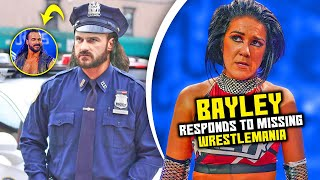 Bayley SPEAKS OUT On MISSING Wrestlemania Drew McIntyre Retirement His NEW CAREER After WWE