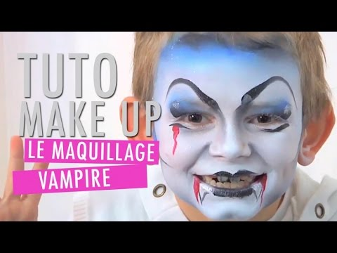 un maquillage de vampire pour enfant tuto make up youtube. Black Bedroom Furniture Sets. Home Design Ideas