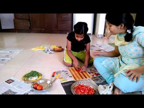 Talent Summer Camp Bangalore with Karma Trivedi_Cooking Aditi