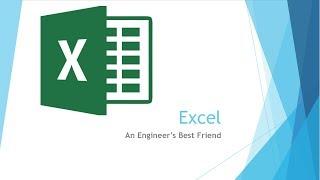 Beginning Engineers Excel