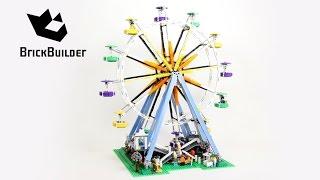 Lego Creator 10247 Ferris Wheel - Lego Speed Build