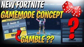Crazy New Fortnite Gamemode Gamble | Risk V-Bucks to Win V-Bucks Concept