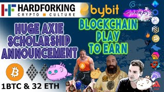 Axie Infinity Scholarships +How to go full time in Crypto