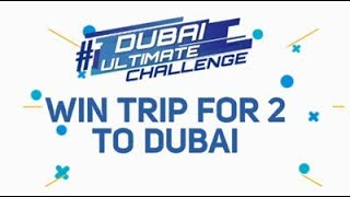 WIN An Ultimate Dubai Experience For Two!