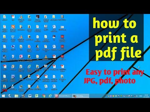 how to print a jpg file 2019 | JPG फाईल को कैसे प्रिंट करें हिंदी में by technical bhattji