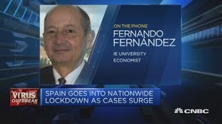 Spain likely to see a recession because of coronavirus, economist says   Squawk Box Europe