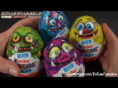 Kinder Überraschung  MAXI EI  Monsters University Disney Pixar Monsters, Inc Kinder Surprise
