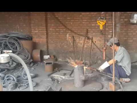 Как производятся стальные тройники по 17376-2001 на заводе производителя в Китае