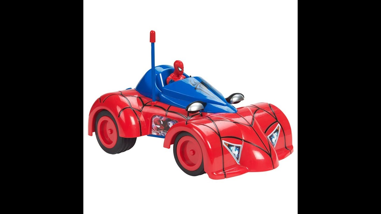 Spiderman Toys For Kids : Spiderman remote control car cars toys for kids
