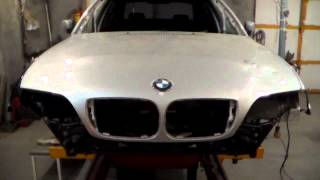 видео Кузовной ремонт БМВ Е34 и Е39