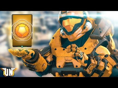 Halo 5 - Gold Req Pack Challenge!