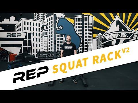 REP SR-4000 Series Squat Rack 1