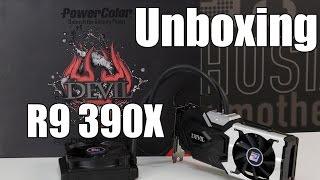 """Unboxing da PowerColor R9 390X Devil - tiramos o """"demônio"""" da caixa"""