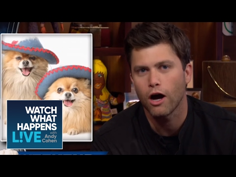 Snl S Colin Jost Gives The Weekend Pupdate Wwhl Youtube