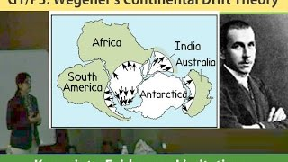 [Geography Lecture] G1/P3: Continental Drift Theory