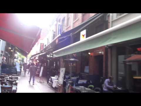 Sarah Jordan - A Walk through Hardware Lane, Melbourne!