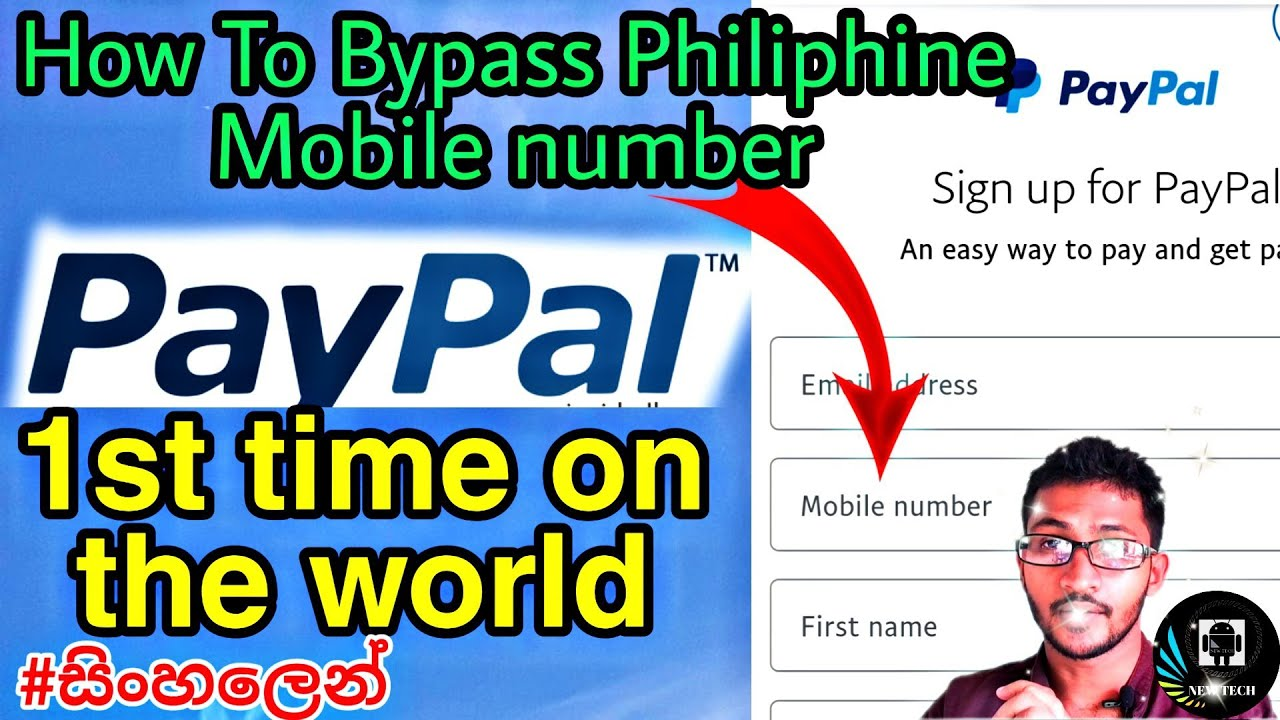 How to bypass PayPal mobile varification 100%