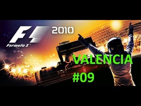 GP DA EUROPA - VALENCIA - F1 2010 - #09 - 1080p - 60FPS - G27