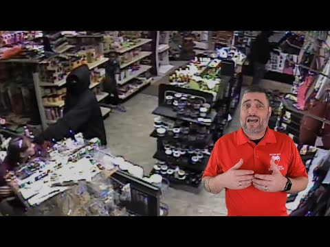 Good Samaritan Shields Child During Armed Robbery