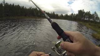 Fiske med haspelset Trophy Air